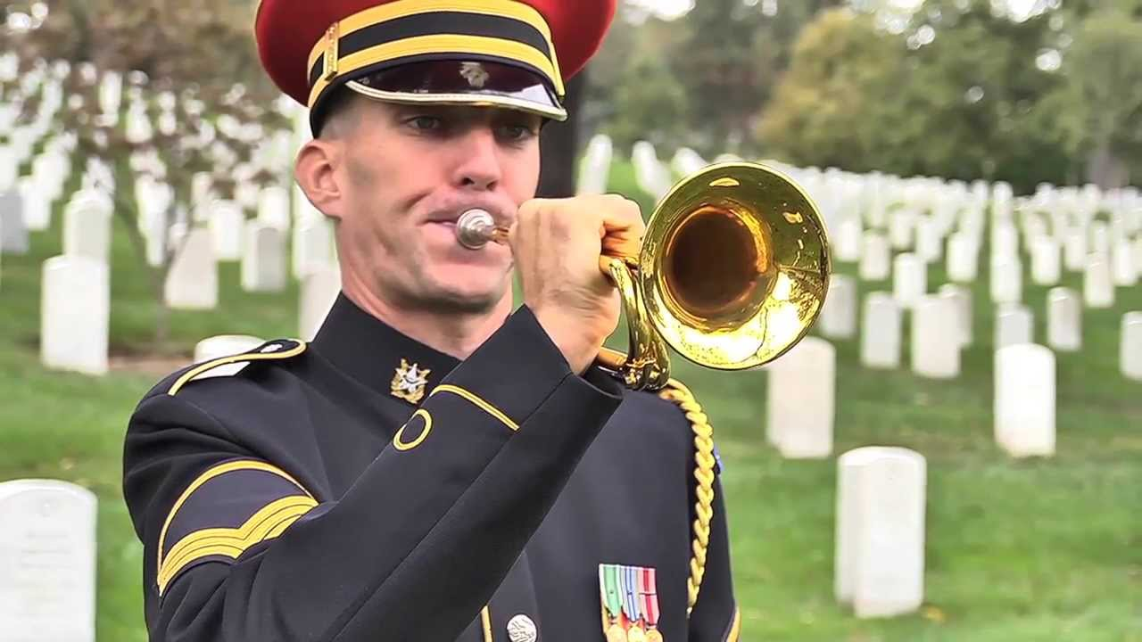 Taps performed in Arlington National Cemetery