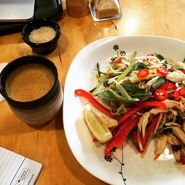 cuisine poulet Thai