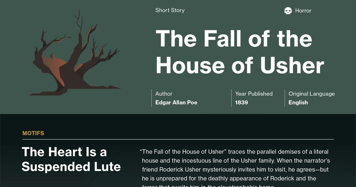 The Fall of the House of Usher Quotes - Course Hero