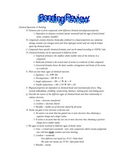 CHEMISTRY 1010 : Principles of Chemistry - Wayne State