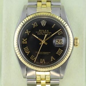 Rolex Datejust in 18K Gold und Stahl