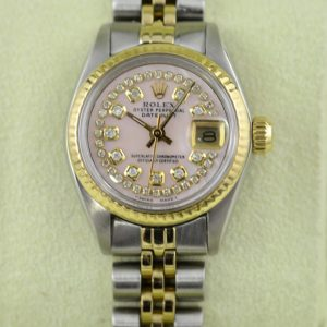 Rolex Lady Datejust 2tone