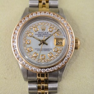 Rolex Datejust Lady biclolor