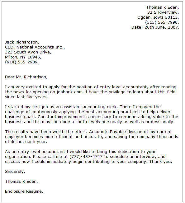 Accounting Cover Letter Examples Cover-Letter-Now