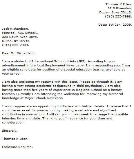 Teacher Cover Letter Examples Cover-Letter-Now