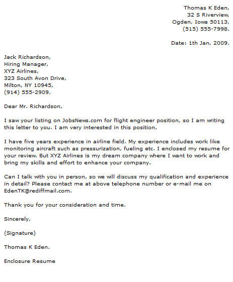 Engineer Cover Letter Examples Cover-Letter-Now