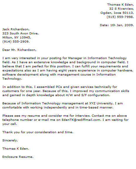 Technology Cover Letter Examples Cover-Letter-Now