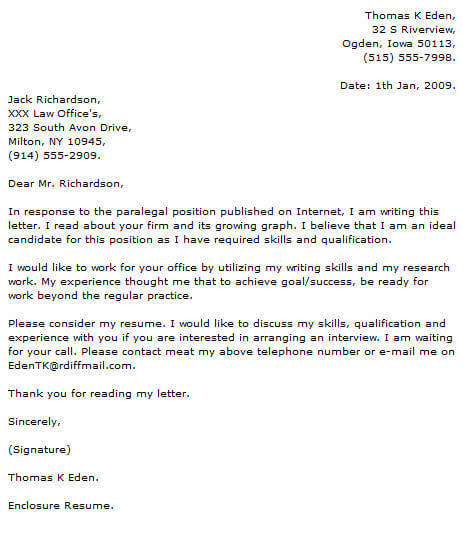 Paralegal Cover Letter Examples Cover-Letter-Now
