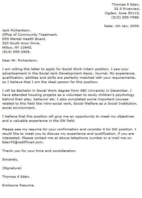 Social Work Cover Letter Examples Cover-Letter-Now