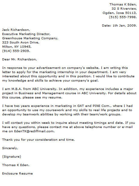 Marketing Cover Letter Examples Cover-Letter-Now