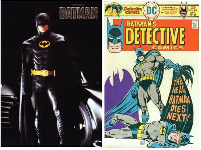 Comic Book Movies Vs Comics