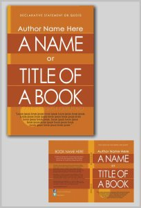 how to book cover with gold stripes