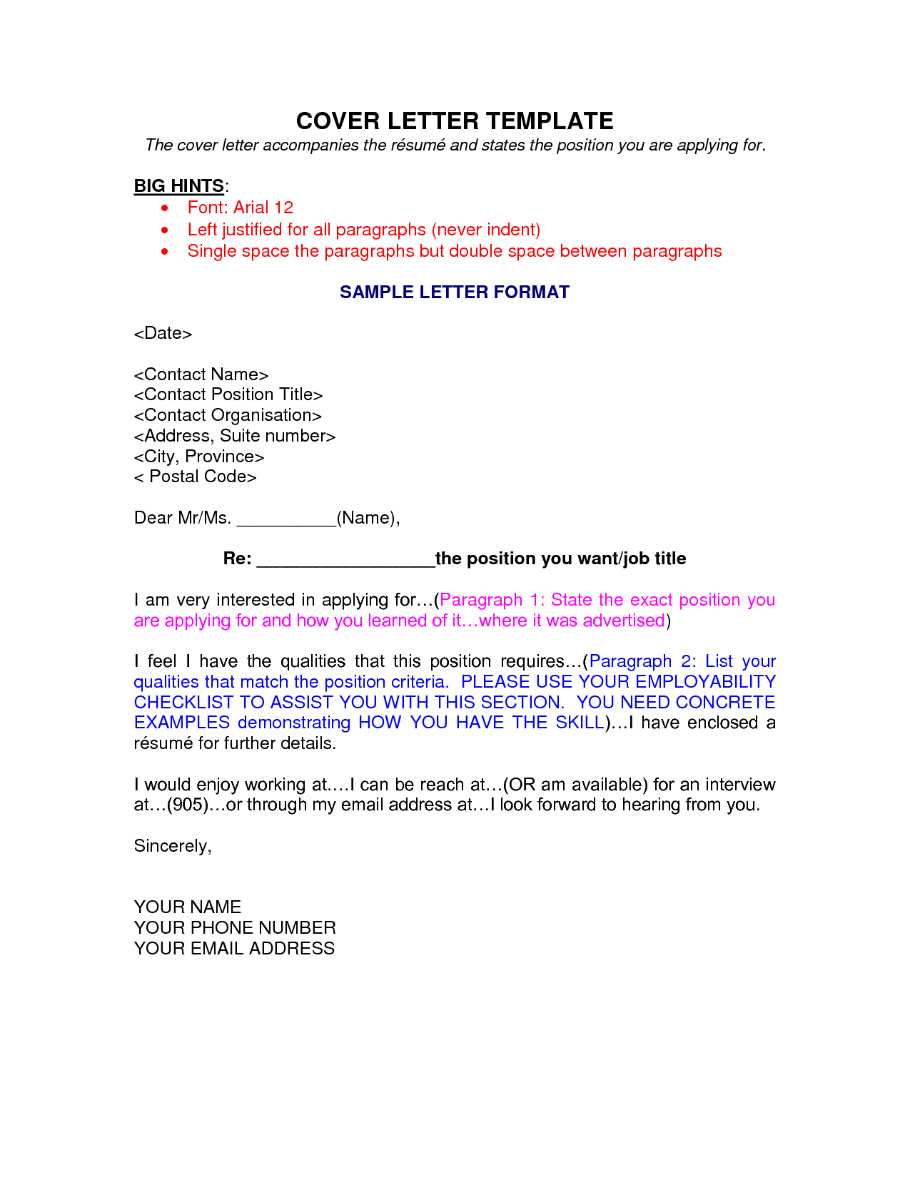 Ingenious Design Ideas Monster Cover Letter    Sample Winning Letters  More With