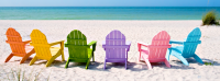 Summer - Colorful Summer Chairs | Free Facebook Covers ...