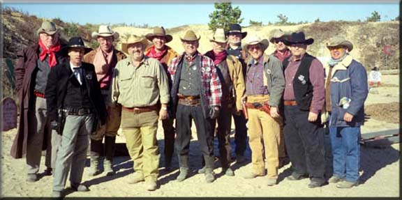 cowboy action shooting team