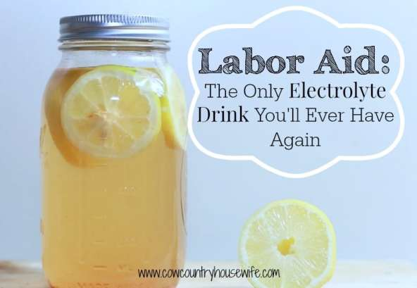 labor aid the only electrolyte drink you'll ever have