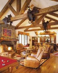 Western Home: Decorating with Saddles