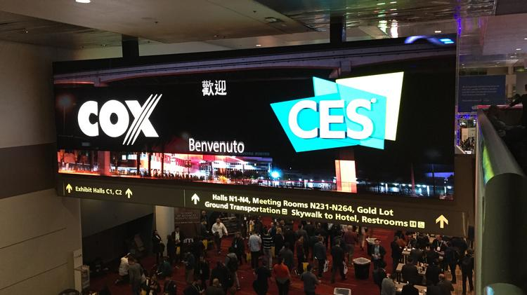 Cox Business and Hospitality Network Powers CES
