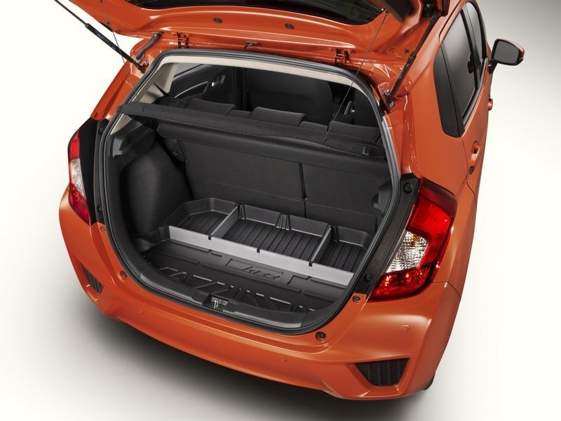 Genuine Honda Jazz Boot Liner Trunk Tray With Dividers
