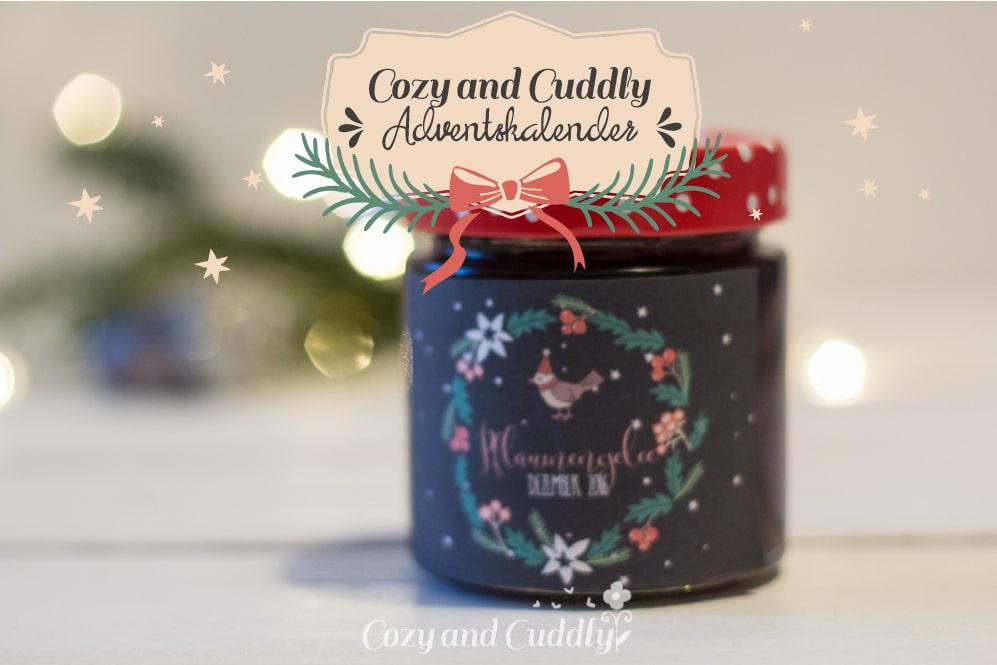 Adventskalender-Türchen Nr. 2 - Weihnachtliches Pflaumengelee mit Zimt plus Etiketten