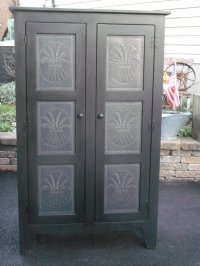 PUNCHED TIN CABINET DOORS  Cabinet Doors