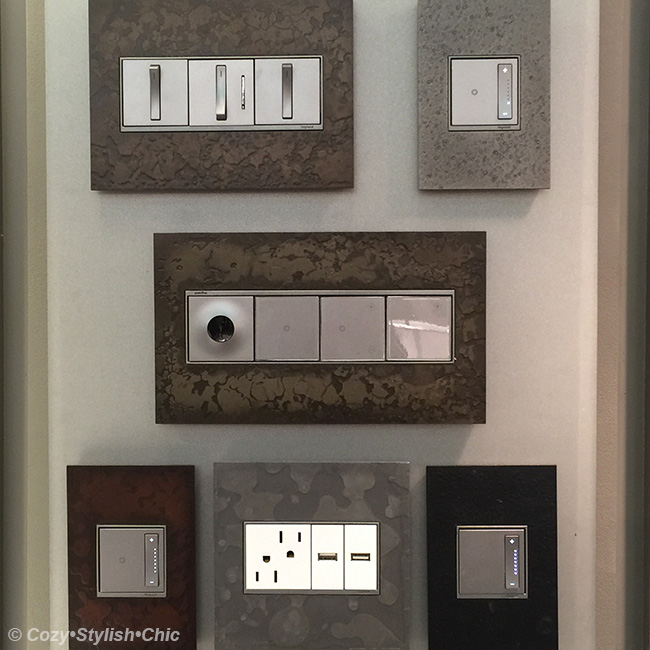 create a warm and inviting space with designer light switches cozy stylish chic. Black Bedroom Furniture Sets. Home Design Ideas