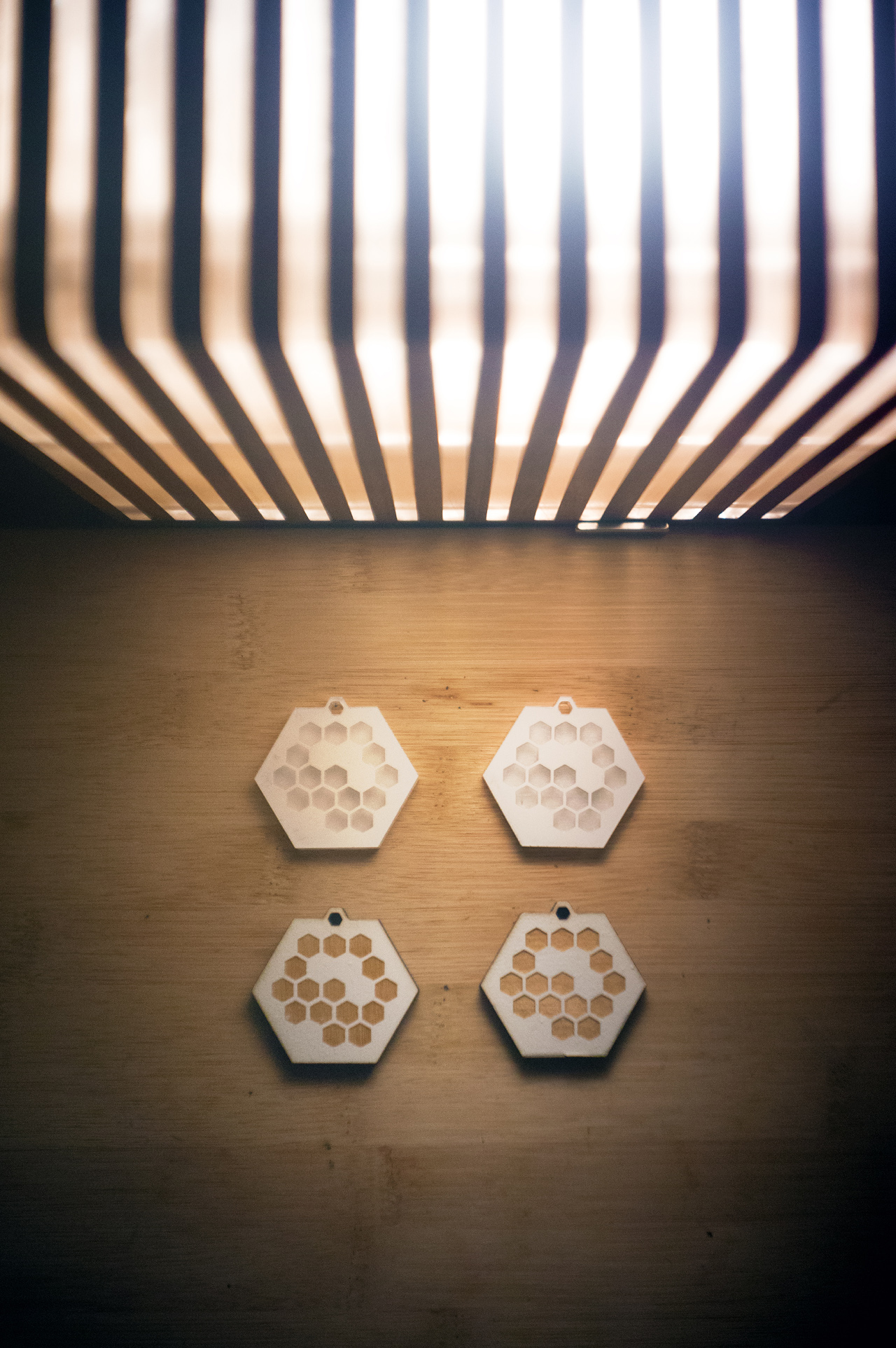 Honeycomb Pendants