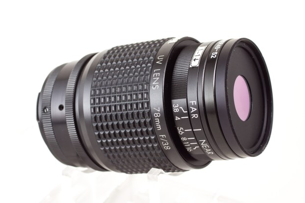 78mm F3.8 Side View