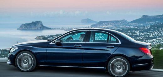 Mercedes Benz C Class experiments