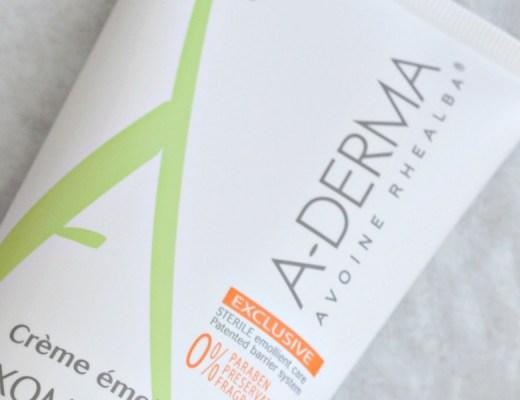 A-Derma et sa Crème Émolliente EXOMEGA - Mon Petit Quelque Chose