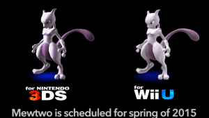 Mewtwo confirmado para Smash Bros. for Wii U & Nintendo 3DS