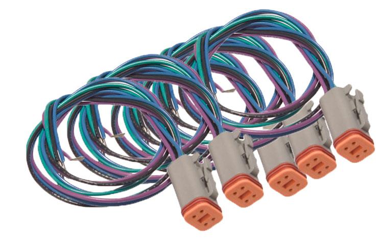 Deutsch Connector for Livorsi Gauges, 5 Pack for Livorsi Gauge Kits