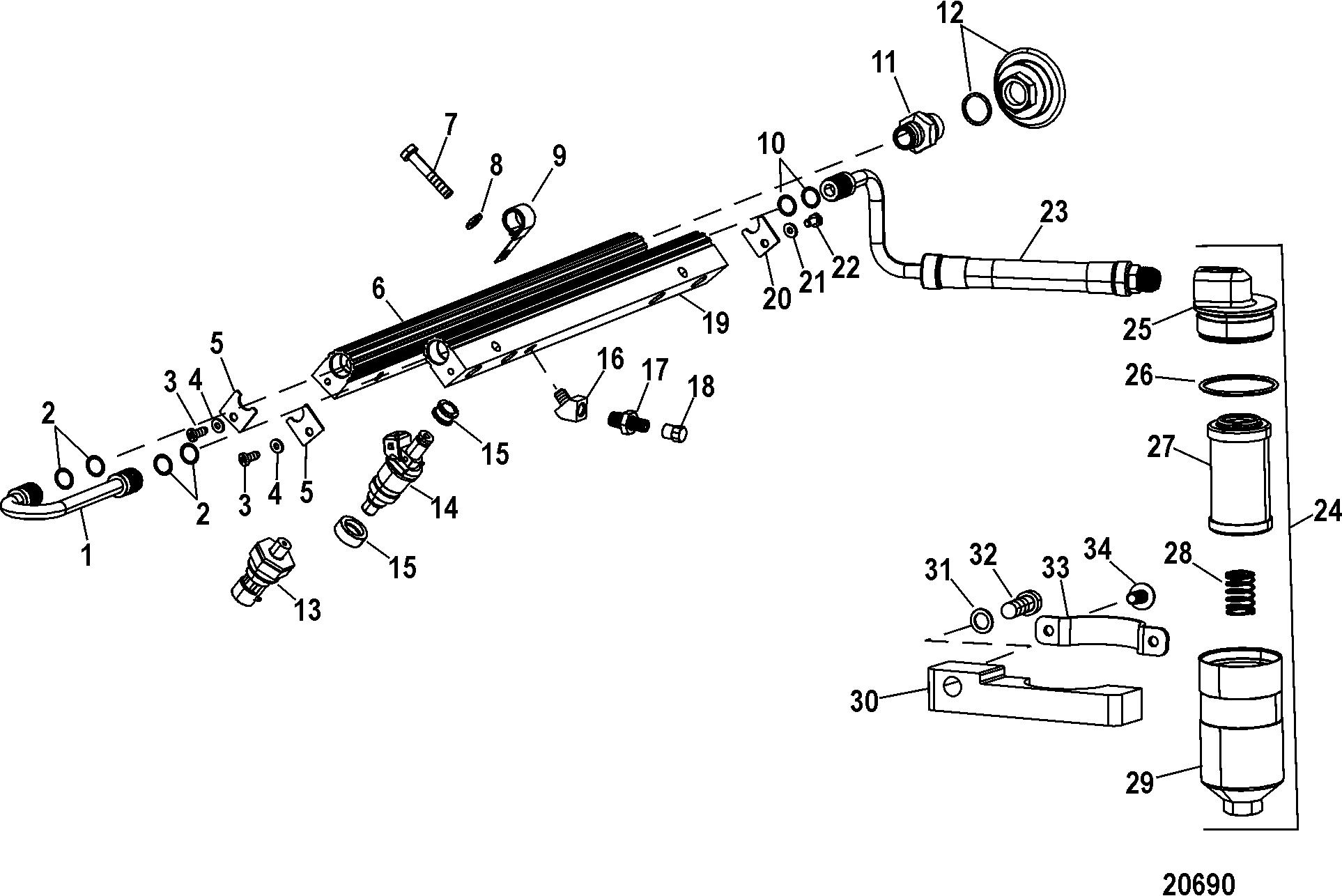mercury racing 525 wiring diagram