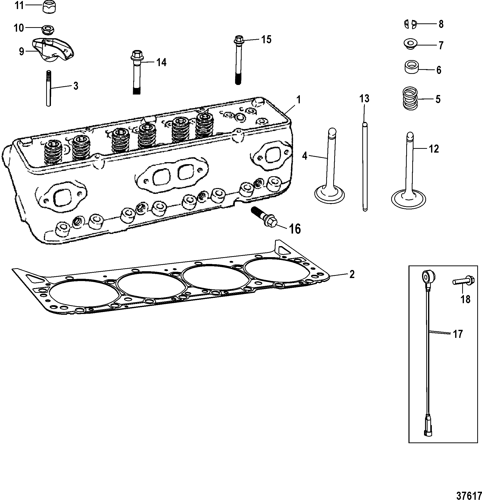 diesel fuel filter head assembly