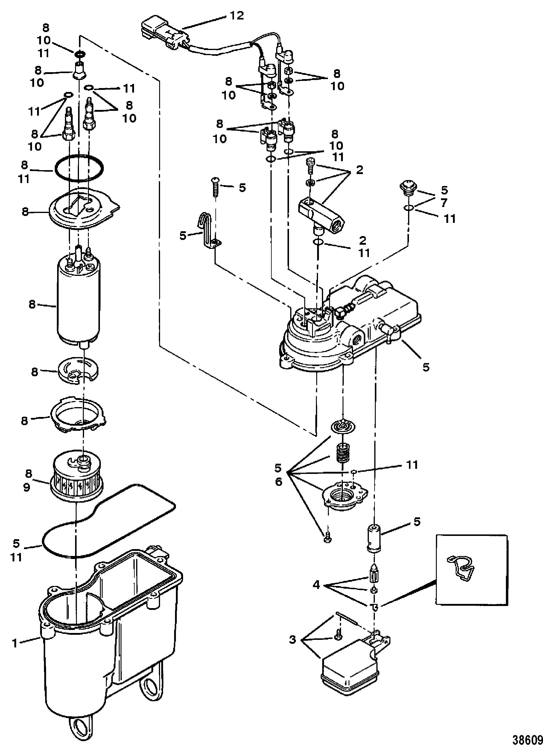 fuel filter bracket gm