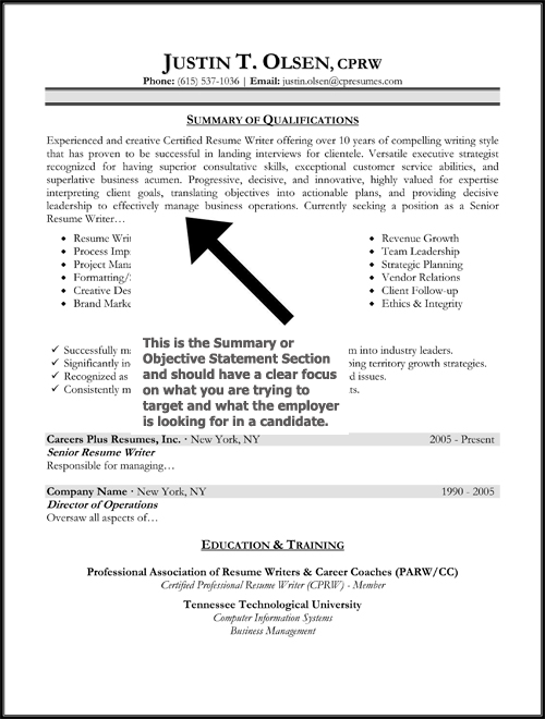 Resume Writing Key Strengths | CV Writing Services