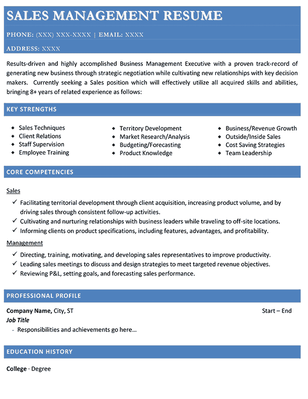administrative functional resume