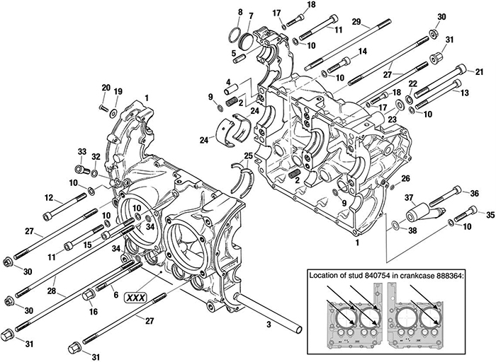 rotax 380 Motor diagram