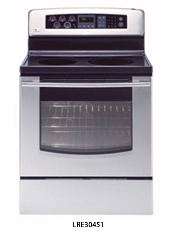 LG Electronics Recalls Electric Ranges Due to Burn and Fire Hazards