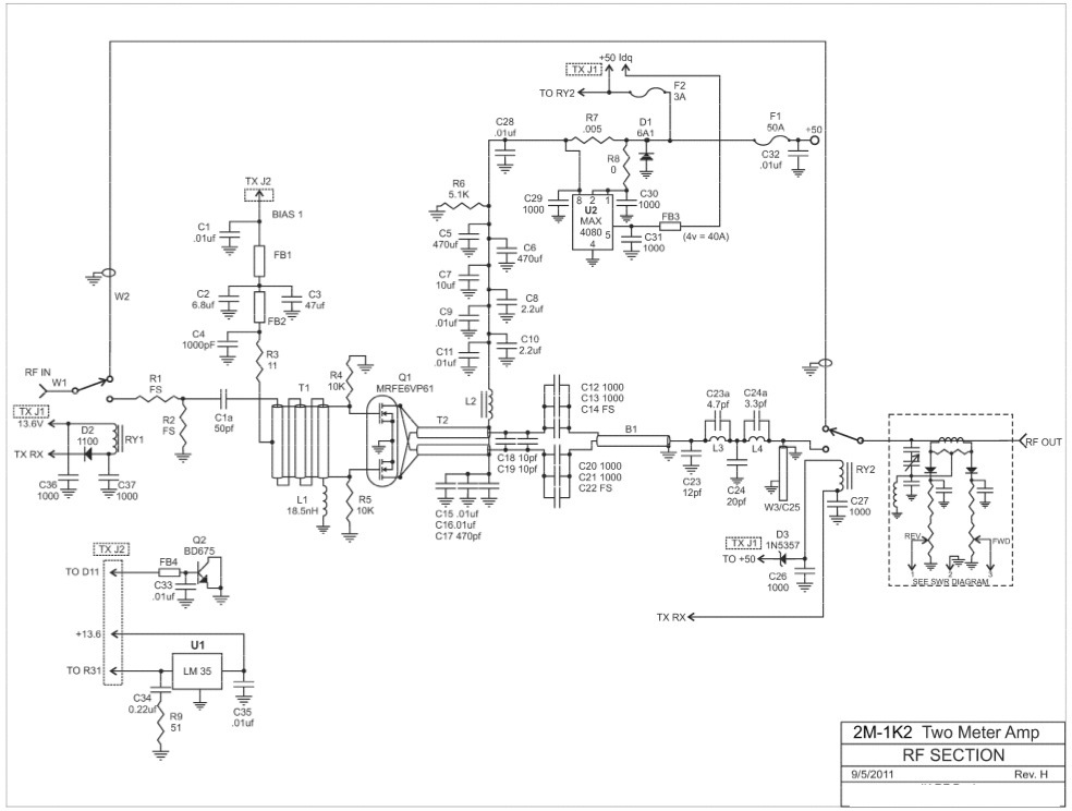 db drive amp ledningsdiagram