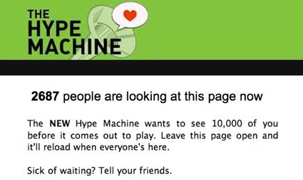 Hype Machine Launch