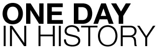 one day in history