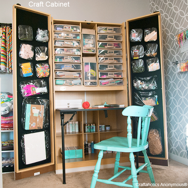 Craftaholics Anonymousr Craft Cabinet The Craftbox