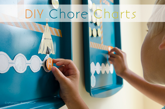 Craftaholics Anonymous® DIY Cookie Sheet Chore Charts