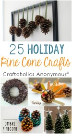 Holiday Pine Cone Crafts