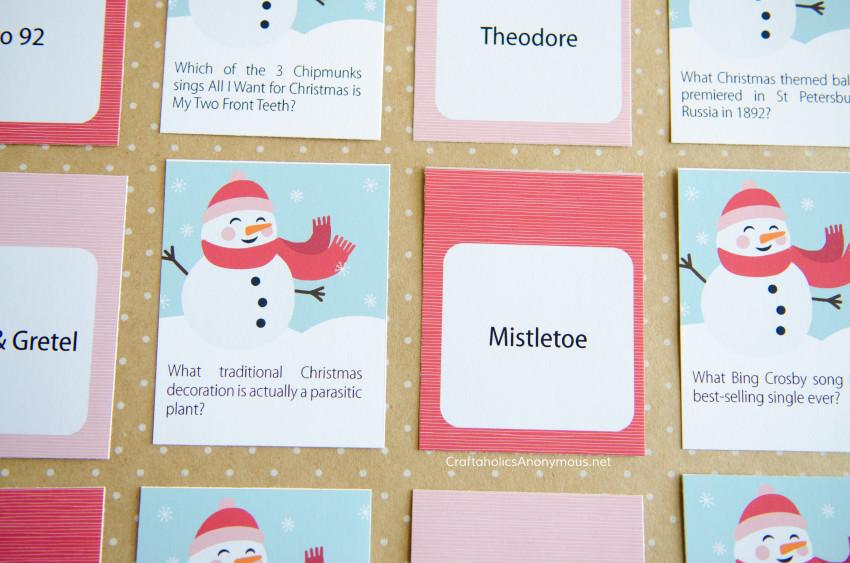 Craftaholics Anonymous® Christmas Trivia Game Printables
