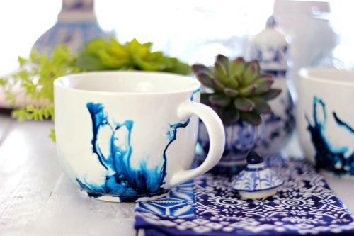 Medium Of Beautiful Ceramic Mugs