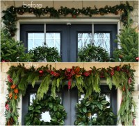 28 Best - Window Garland Swag - how to make christmas ...