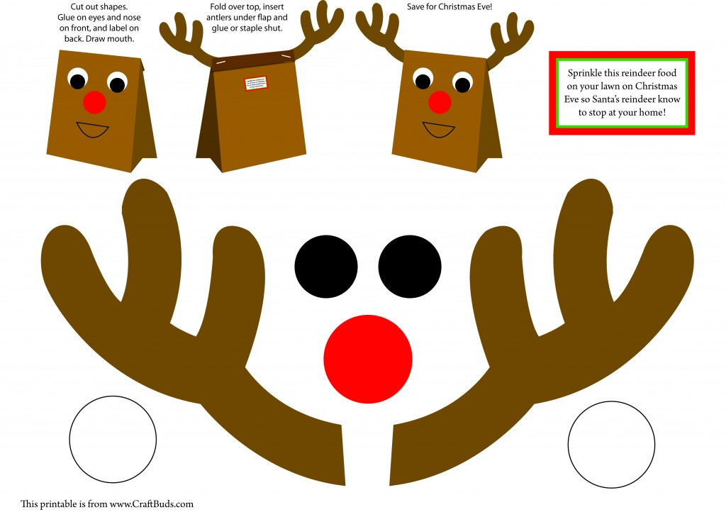 reindeer craft Craft Buds