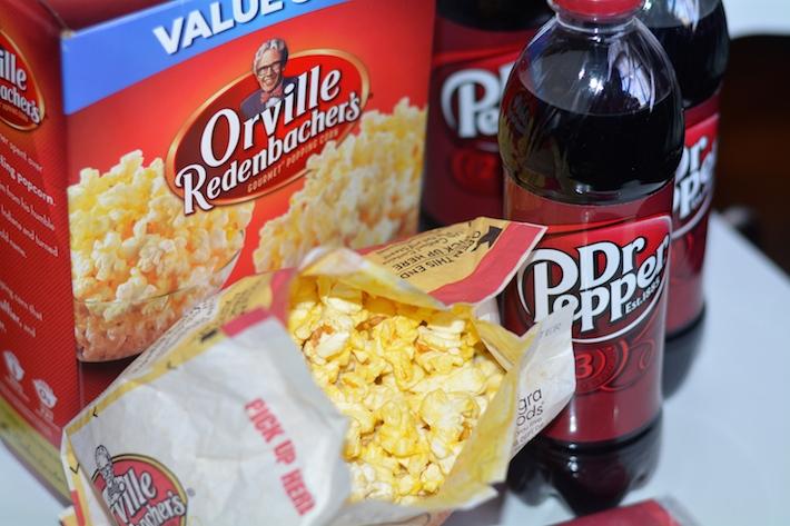 Wonder Woman Movie Release DIY Popcorn Bags + Free Printable